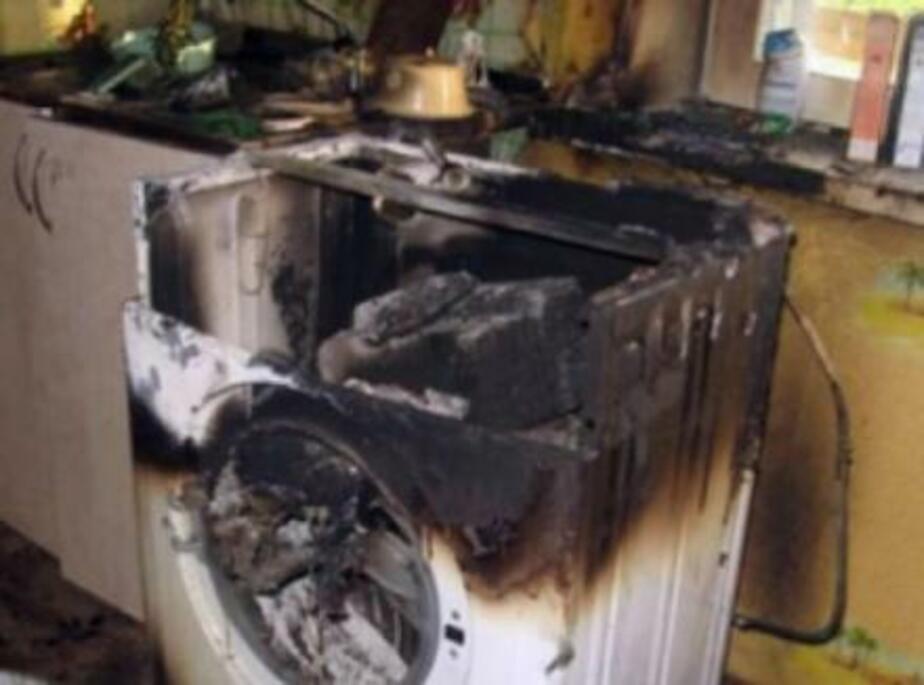 В Гурьевске в квартире сгорела стиральная машина и бойлер - Новости Калининграда