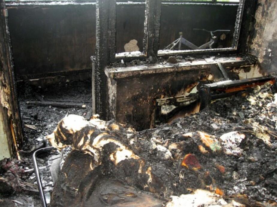 В Калининграде в пятиэтажке сгорели две квартиры- две женщины госпитализированы - Новости Калининграда