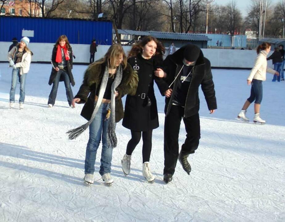В России открылись православные катки- которые снижают травмоопасность