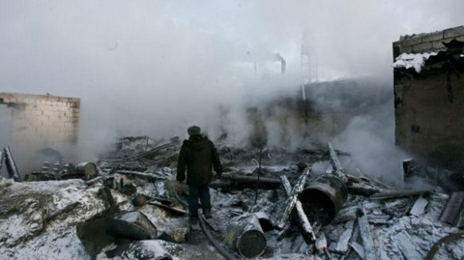 В Зеленоградском районе сгорел скотный двор - Новости Калининграда