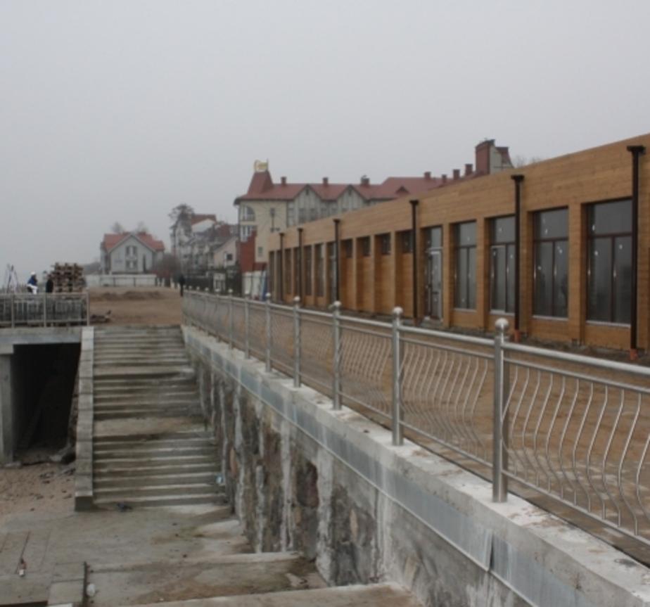 При строительстве набережной в Зеленоградске украли около 10 млн- руб - Новости Калининграда