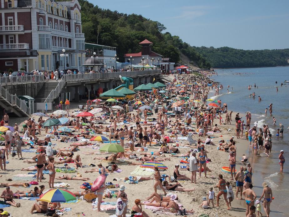 Власти хотят потратить 8-6 млрд руб на намыв пляжей - Новости Калининграда