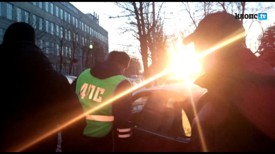 В Калининграде подполковника полиции оштрафовали за езду по тротуару - Новости Калининграда