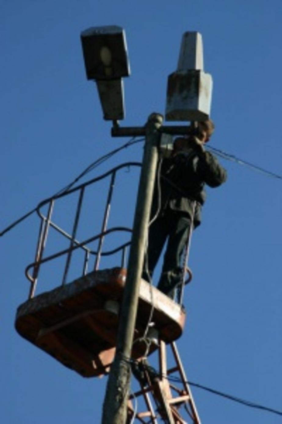 В 2012 году во дворах Калининграда обновят 300 фонарей