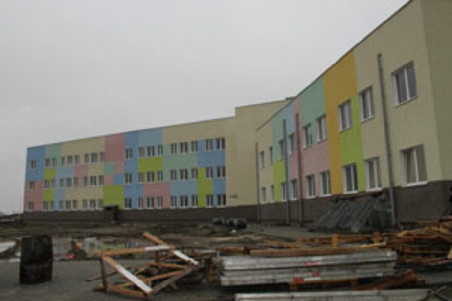 Горвласти- Школу на Карамзина в Калининграде достроят в мае