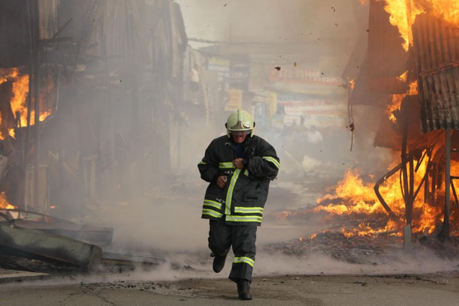 При пожаре в подвале на ул- Беланова пострадали трое мужчин - Новости Калининграда