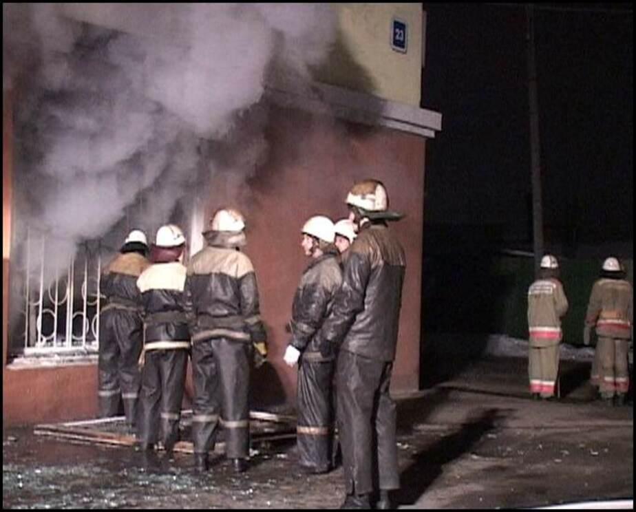 На ул-Госпитальной в Черняховске сгорела часть павильона - Новости Калининграда