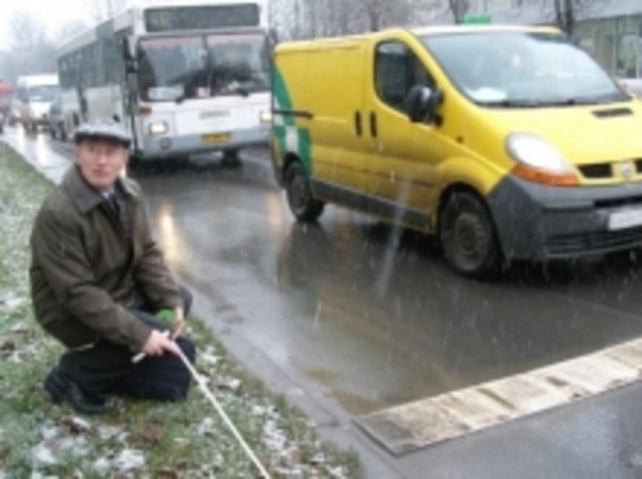 В Калининграде разрушилась шумовая полоса на ул- Горького - Новости Калининграда
