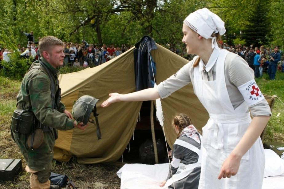 В Калининграде прошла военно-историческая реконструкция штурма форта -5 - Новости Калининграда