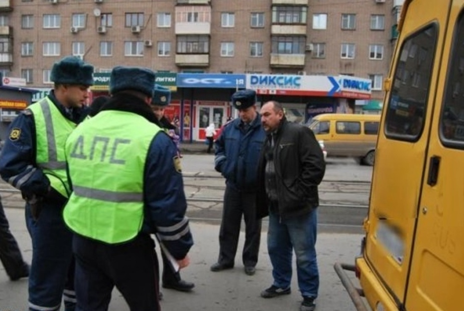 В Калининграде водитель маршрутки избил пешехода - Новости Калининграда