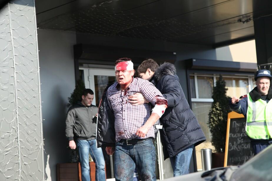 В Калининграде неизвестные с битами- ножами и пистолетом избили посетителей ресторана -дополнено- - Новости Калининграда