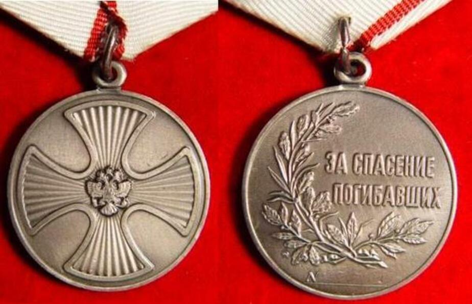 Медведев наградил водителя из Славска медалью за спасение тонущего ребенка