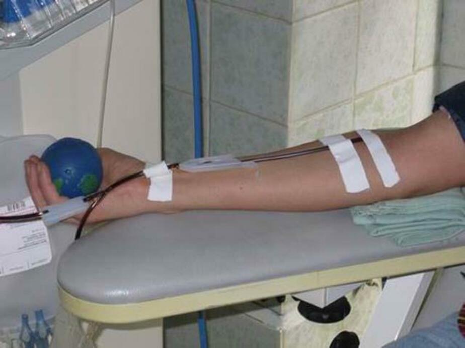 Региональную выплату донорам на питание повысили на 150 руб