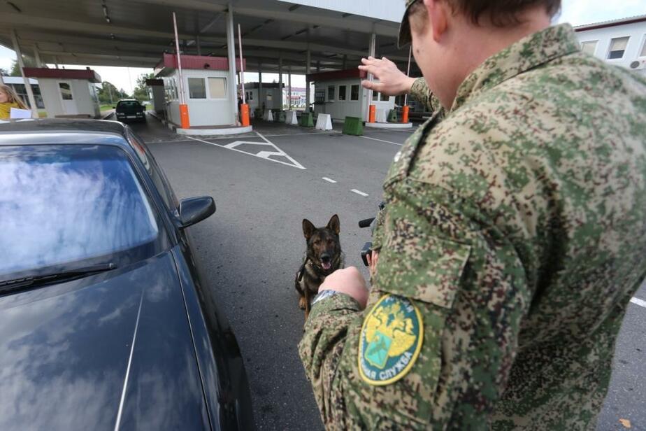 Пьяный водитель пытался перевезти через границу угнанный автомобиль - Новости Калининграда