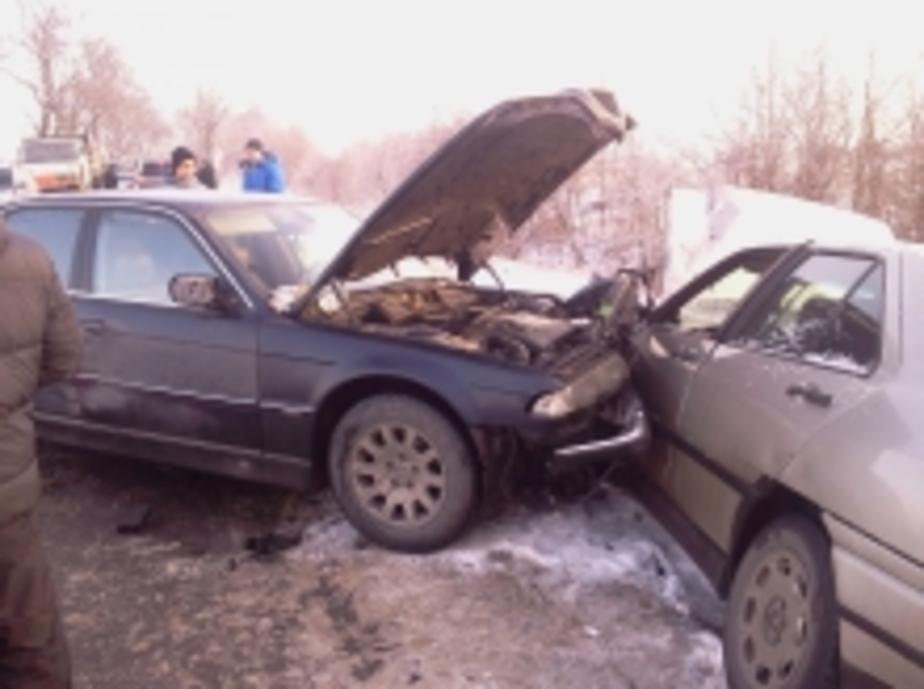 В Калининграде из-за гололеда в авариях пострадали 3 человека - Новости Калининграда