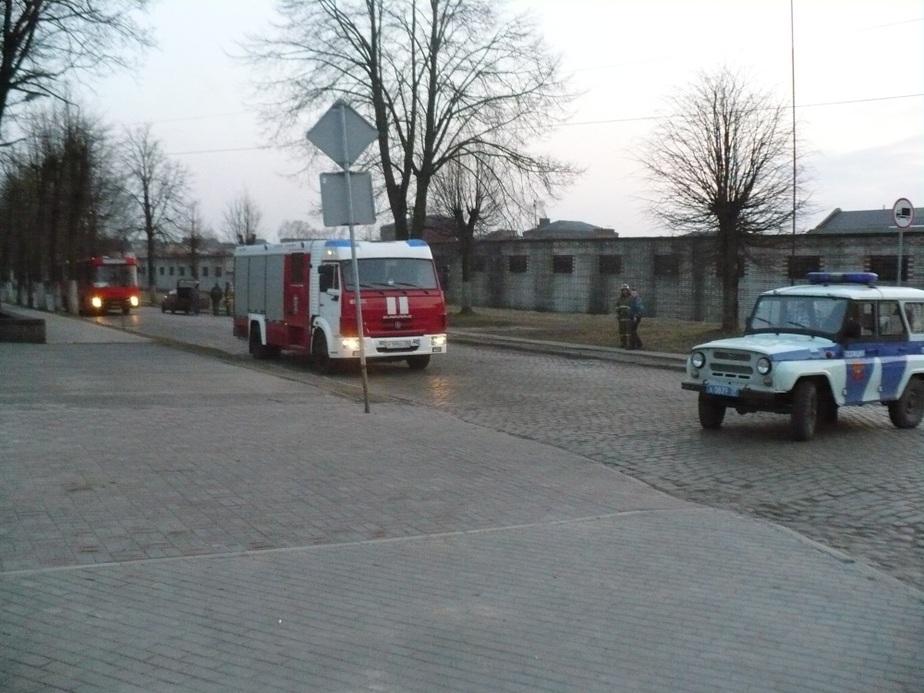 В Советске из-за угрозы взрыва газового баллона на полчаса перекрыли улицу - Новости Калининграда
