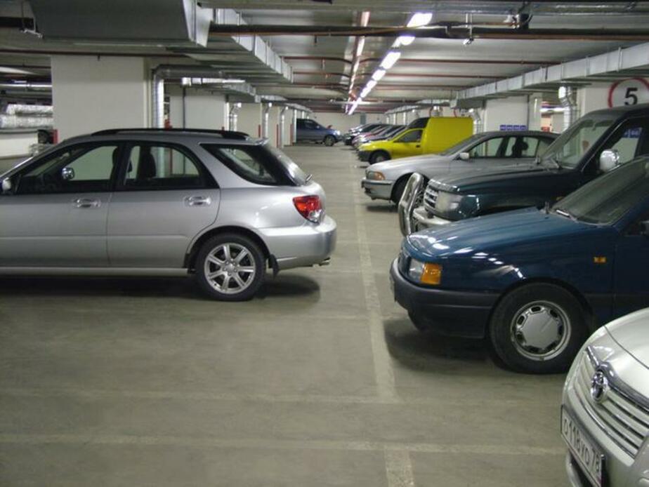 В Калининграде инвесторы не хотят строить многоуровневые парковки