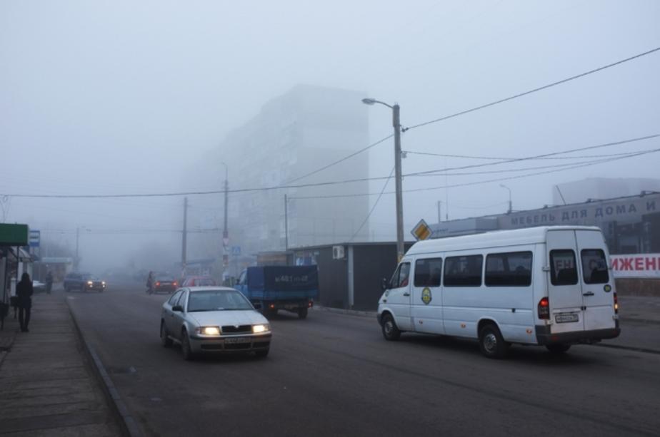 ГИБДД- Туман в Калининграде не вызвал роста ДТП - Новости Калининграда