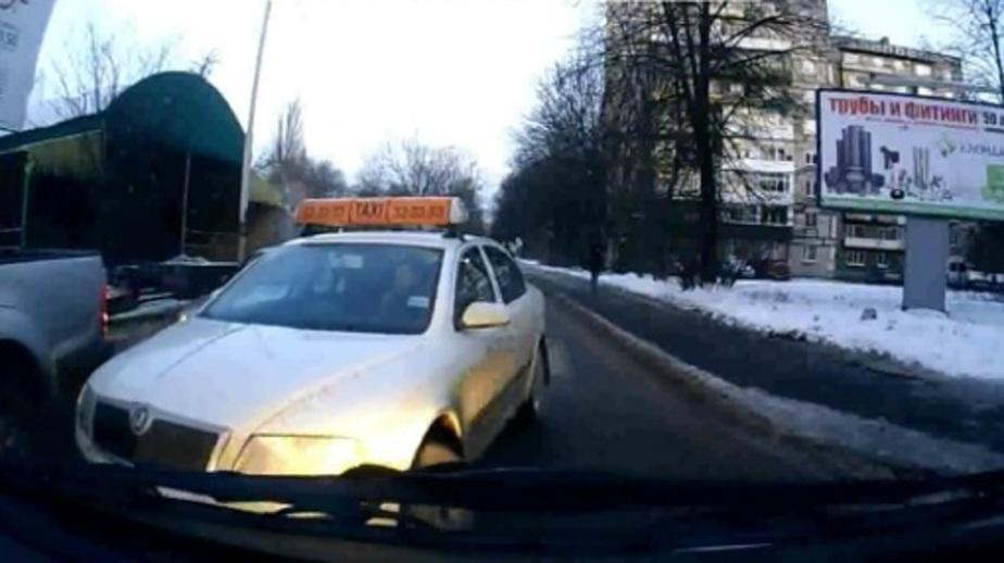 Наглый таксист в Калининграде - Новости Калининграда