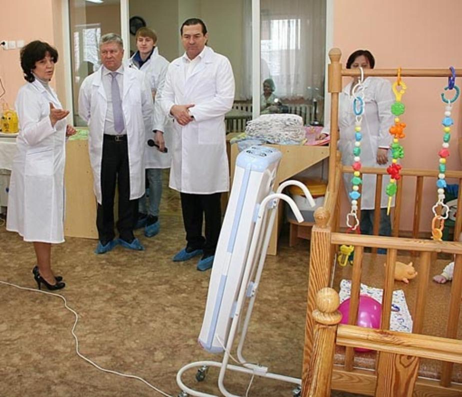 Малышам из дома ребенка подарили здоровье - Новости Калининграда