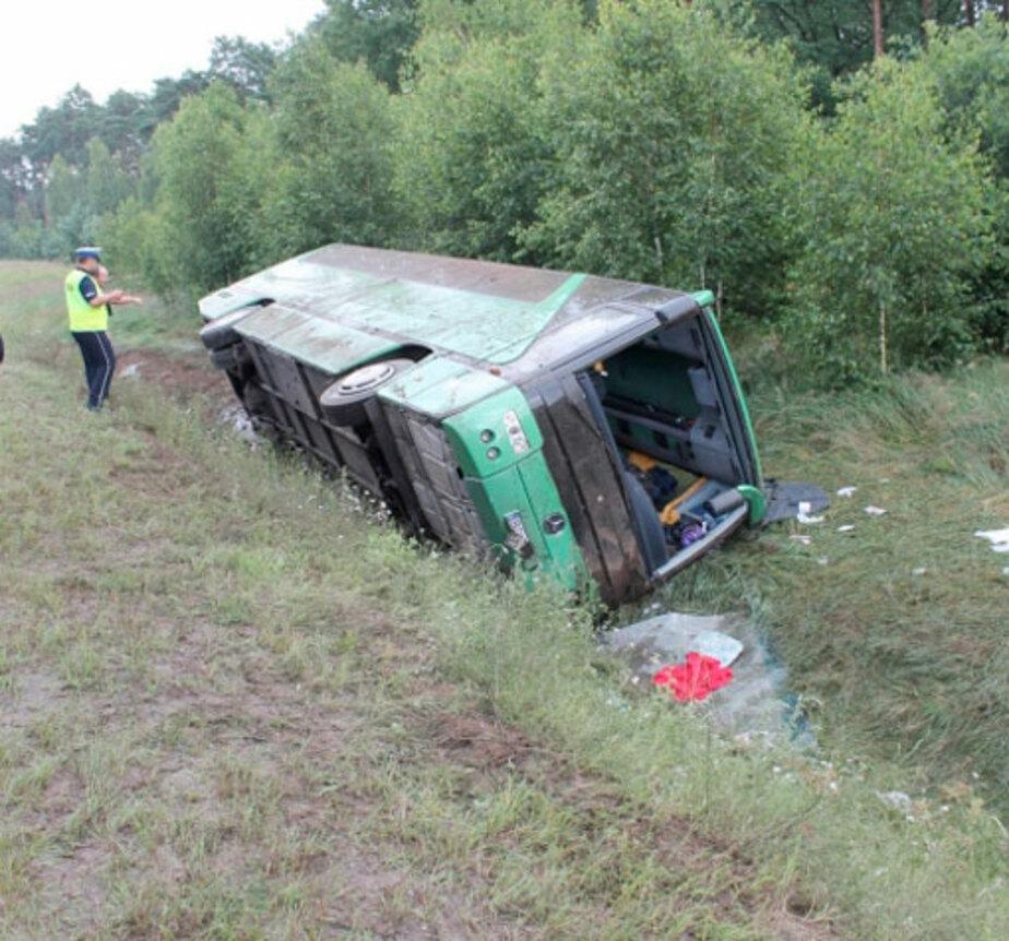 В Польше перевернулся автобус с нашими туристами - Новости Калининграда