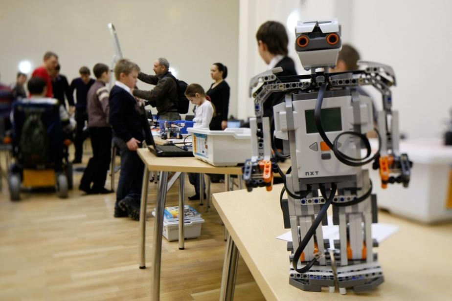В школе -1 в пос- Большое Исаково прошла олимпиада роботов