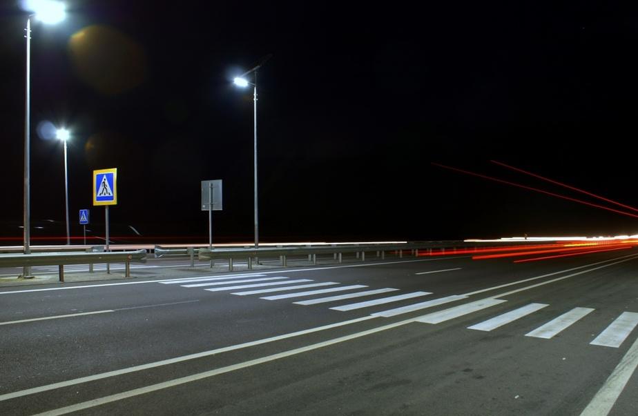 В Калининграде продолжат устанавливать подсветку над опасными пешеходными переходами - Новости Калининграда