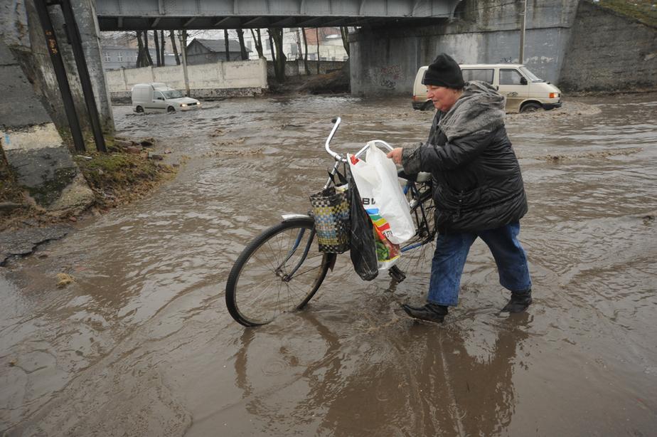 В Калининграде поднялся уровень воды в Преголе- подтопило 12 улиц - Новости Калининграда