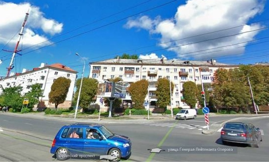 Светофор на перекрестке Советского проспекта и ул- Озерова починили