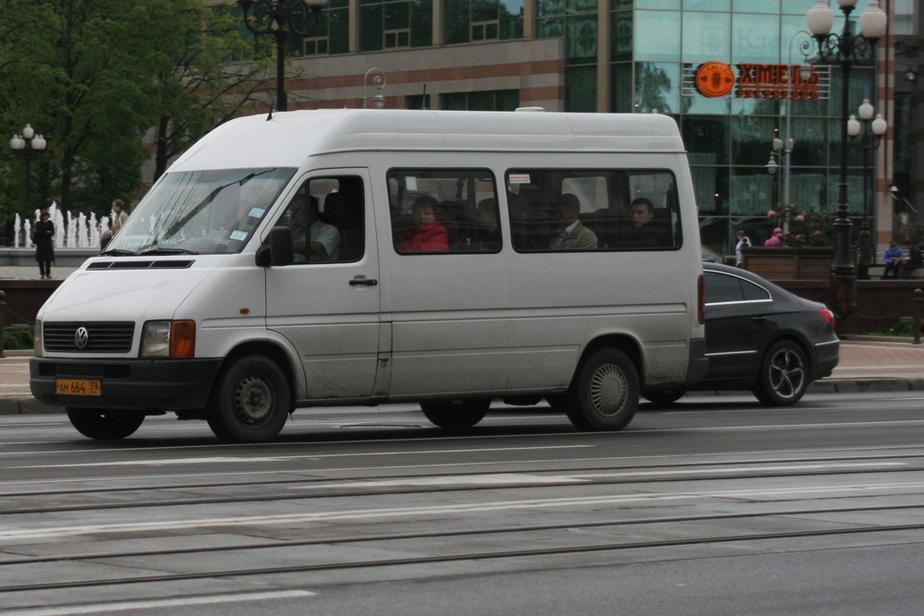 За месяц в Калининграде задержали 135 переполненных маршруток - Новости Калининграда