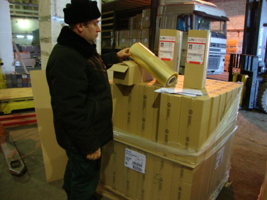 Калининградские таможенники конфисковали 5 тонн пищевой пленки - Новости Калининграда