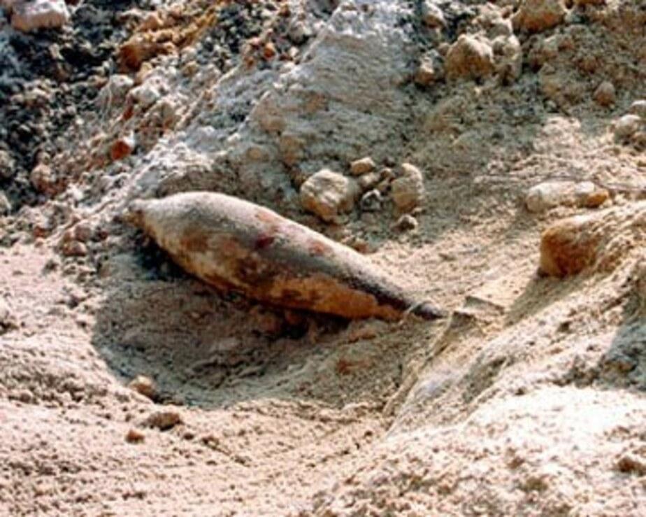 На ул- К- Маркса нашли шесть 120-мм минометных мин - Новости Калининграда