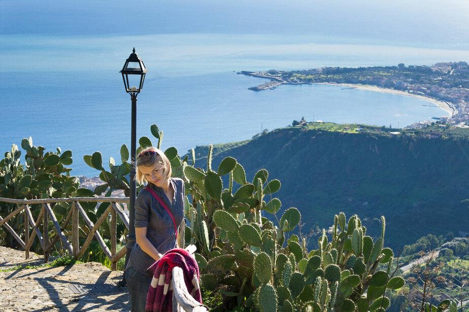 На Сицилии можно слепить снеговика на вулкане! - Новости Калининграда