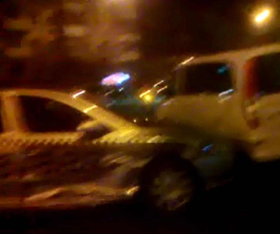 В Калининграде столкнулись такси и БМВ - Новости Калининграда