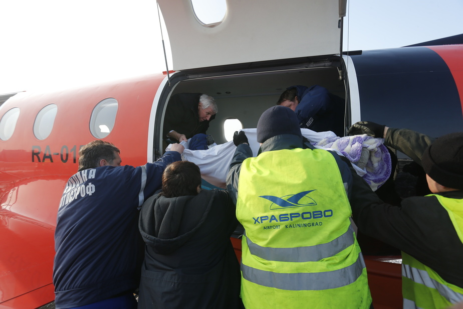Пострадавших при взрыве газа детей спецбортом отправили в Нижний Новгород - Новости Калининграда