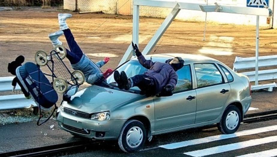 В Калининграде на 10- сократилось количество наездов на пешеходов - Новости Калининграда