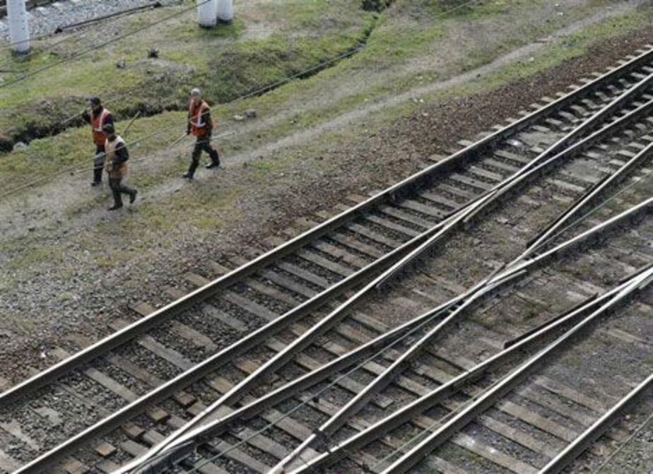 В Калининграде поезд едва не сбил женщину - Новости Калининграда