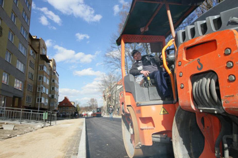 Власти Калининграда не имеют возможности проверить качество ремонта дороги - Новости Калининграда