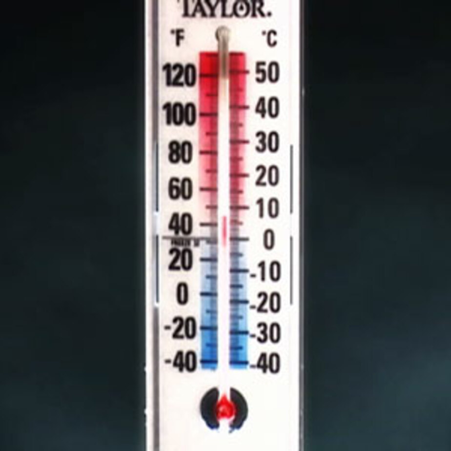 В Калининграде температура воздуха на 4 градуса превысила норму