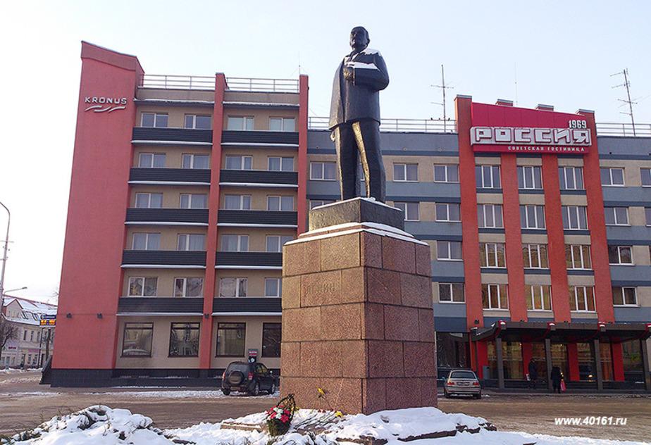 Жители Советска попросили убрать памятник Ленину с площади - Новости Калининграда