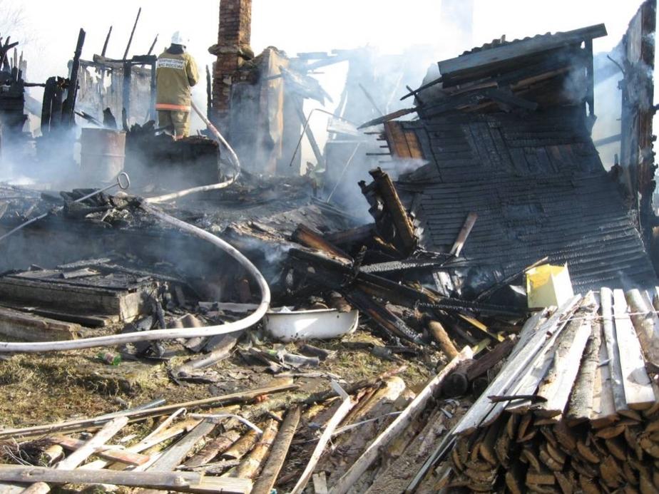 Под Краснознаменском при пожаре пострадали мать и трое малолетних детей- один из них в тяжелом состоянии - Новости Калининграда