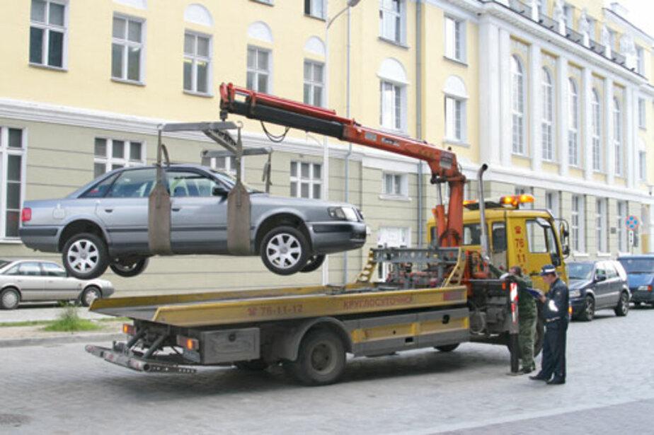 За работу эвакуатора придется платить автовладельцам-нарушителям - Новости Калининграда