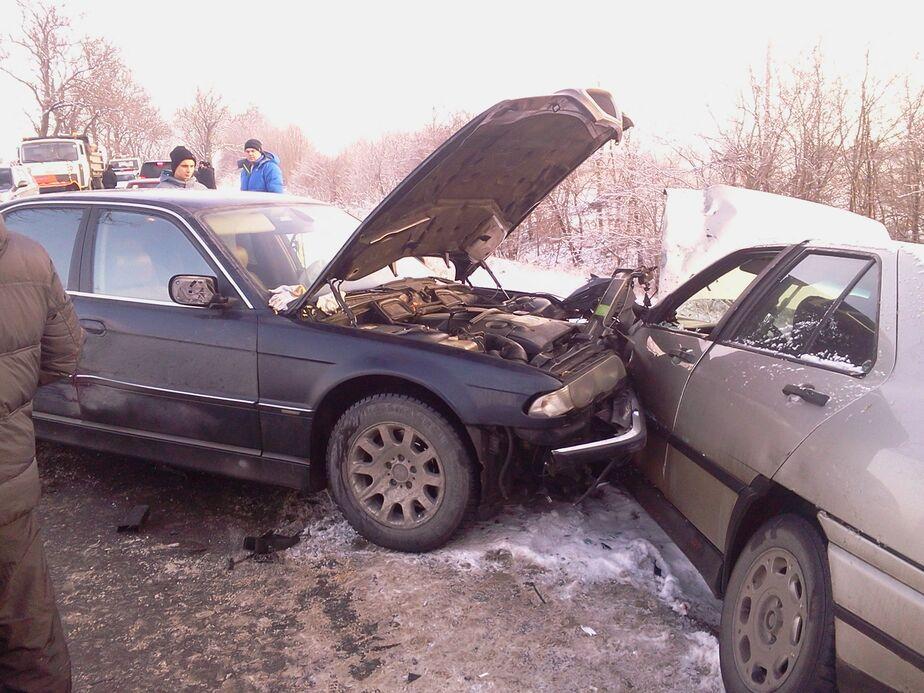 """За час на трассе """"Калининград - Гвардейск"""" произошло 4 ДТП с участием 6 автомобилей - Новости Калининграда"""