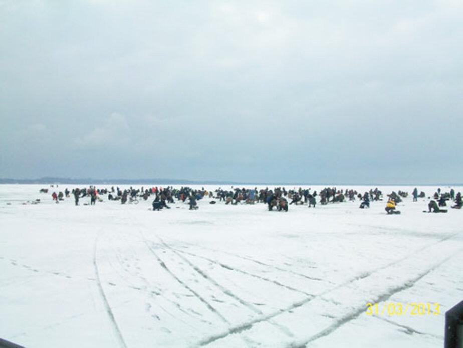 За три дня спасатели сняли со льда залива 150 человек - Новости Калининграда