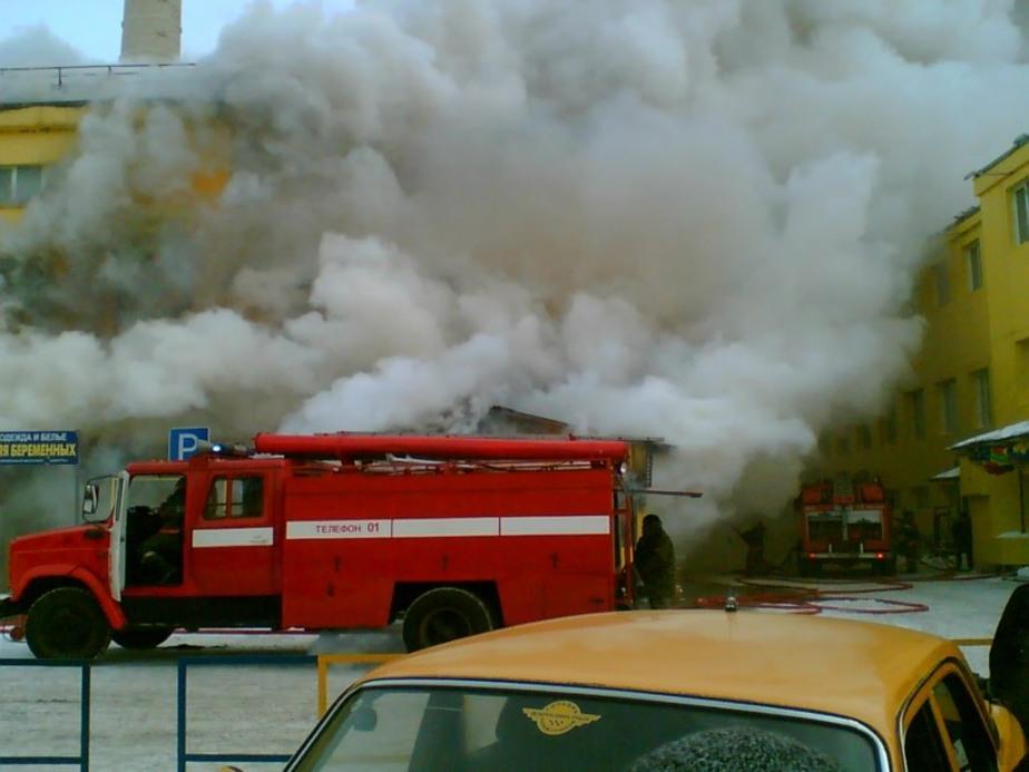 Под Багратионовском сгорел склад завода по переработке рыбы - Новости Калининграда