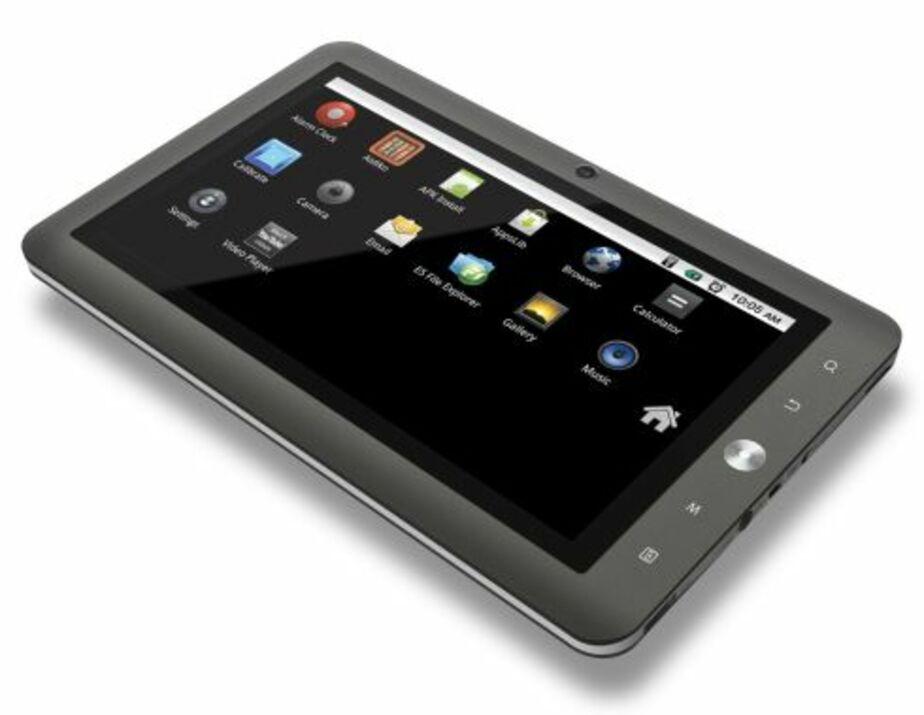 Coby Kyros MID7024 — новый бюджетный планшет