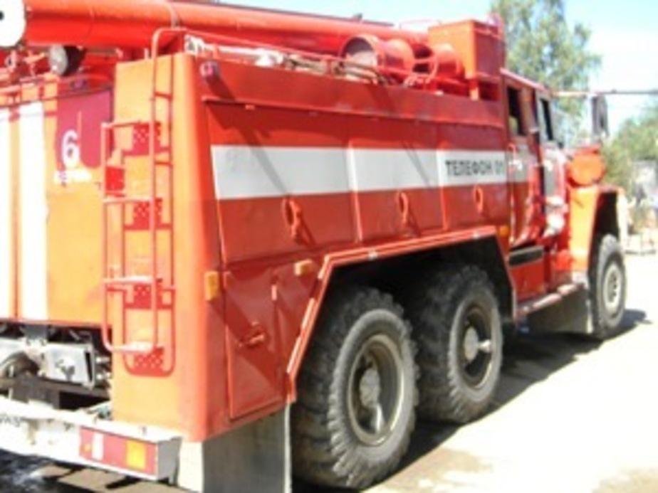 В Озерске пожарные спасли мужчину и женщину - Новости Калининграда