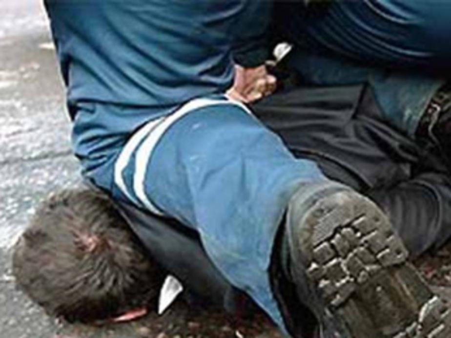 Пьяный водитель уехал от погони в поле и набросился на сотрудников ДПС - Новости Калининграда