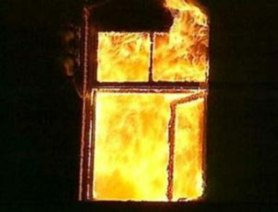 В Калининграде при пожаре в частном доме погиб мужчина - Новости Калининграда