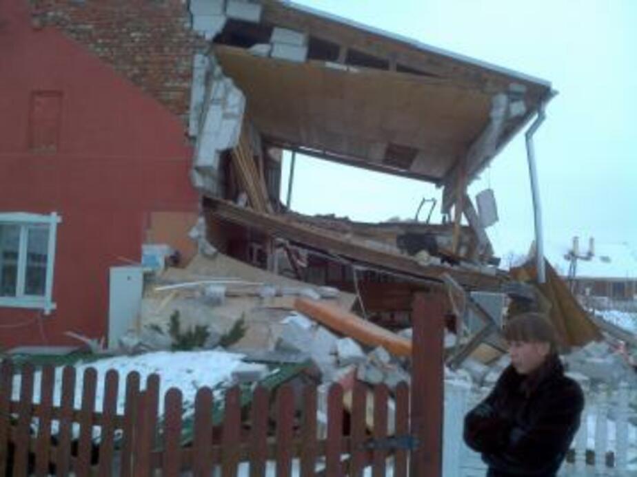 В Багратионовском районе взрыв газа разрушил дом - Новости Калининграда